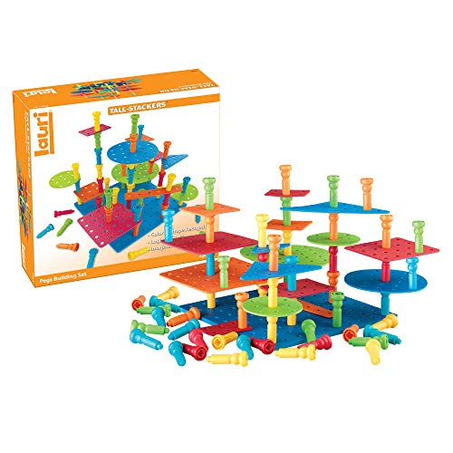 Lauri Tall-Stackers - Pegs Building Set