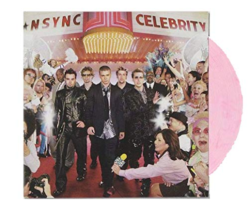 *NSYNC - Celebrity Exclusive Limited Edition Cotton Candy vinyl LP [VG+/NM- Condition]