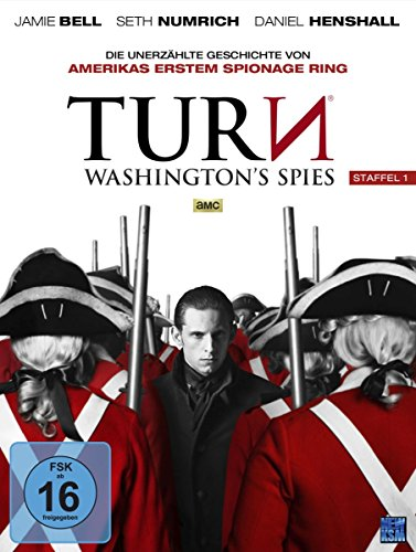 Turn - Washington's Spies Staffel 1 [AMC] (Episode 1-10 im 4 Disc Set)