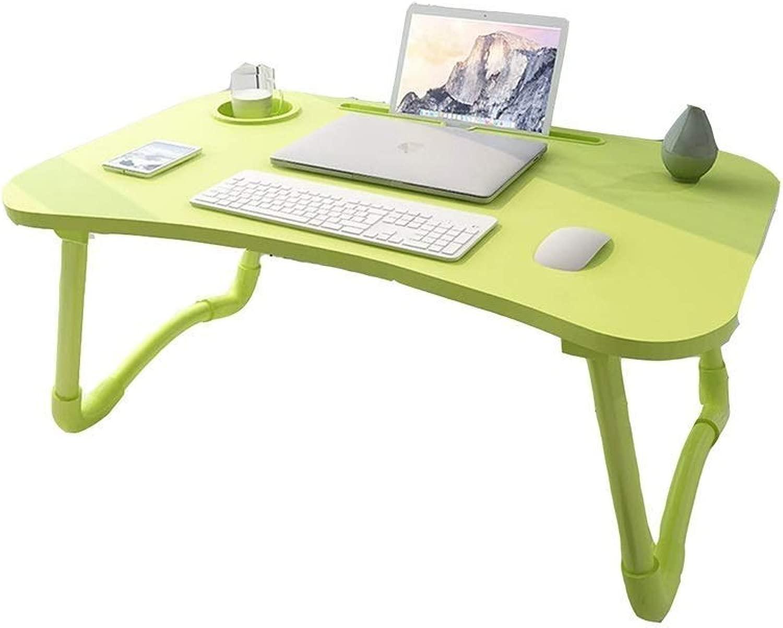 GWFVA Tavolino Pieghevole per la casa Tavolino Portatile per la casa Tavolo da Studio Pigro Semplice - 4 Coloreei (Dimensioni  70x50x29cm) A ++ (Coloreee  Blu)
