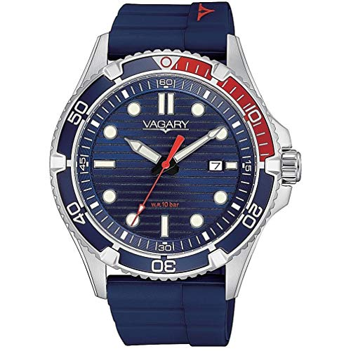 orologio solo tempo uomo Vagary By Citizen Aqua Diver sportivo cod....