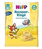 Hipp Knabberprodukte Knusper-Ringe, 7er Pack (7 x 25 g) -