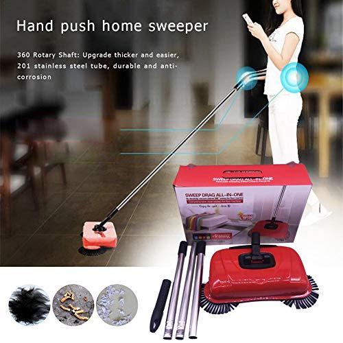CampHiking Lazy Dust Cleaning Sweeper Sweeping Brush Indoor Home Hand Push Automatische Kehrmaschine Besen 360 ° Reiniger Ohne Strom Umwelt Für Boden Teppich