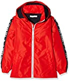 Name It NMMMELLON Jacket Sleeve Print Giacca, Rosso (Flame Scarlet Flame Scarlet), 98 cm Bambino