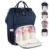 MUIFA Diaper Bag Multi-Function Waterproof Travel Backpack Nappy Bag for Baby Care