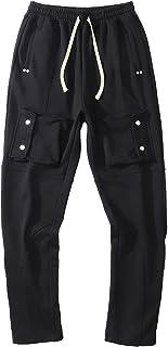 Spodnie męskie, Hip-hop Spodnie męskie dresowe na imprezę sportową Codziennie Elastyczność Bawełniane luźne spodnie ze szn...