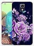 Sunrive Coque Compatible avec Samsung Galaxy S4, Silicone Étui Housse Protecteur Souple Gel...
