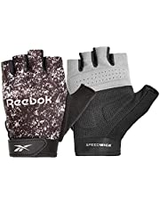 Reebok Unisex Adult Training Fitness Gloves - Black/White, X-Small