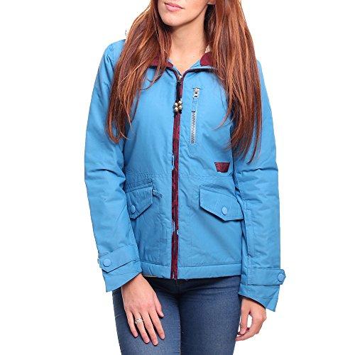BILLABONG Snowjacke Alpha - Chaqueta de esquí para Mujer, Color Azul, Talla L