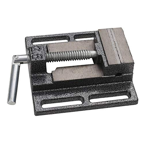 KS Tools 500.8451 Schroefstok met parallelbekken voor boormachine op kolom, 63mm, ouverture 50mm pour perceuse sur colonne 500.8451 Wit.