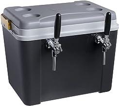 Chopeira a Gelo Lavita caixa 34l - preta com serpentina em alumínio torneira italiana 2 vias