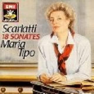 Domenico Scarlatti: Sonatas for Harpsichord - Kirkpatrick Nos. 104, 105, 87, 124, 125, 516, 517, 244, 245, 408, 409, 420, 421, 544 & 545 - Virginia Black