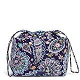 Vera Bradley womens Signature Cotton Pocket Toiletry Bag Travel Accessory, French Paisley, One Size US