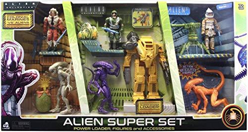 Lanard Alien Figure Playset Power Loader Alien Super Set