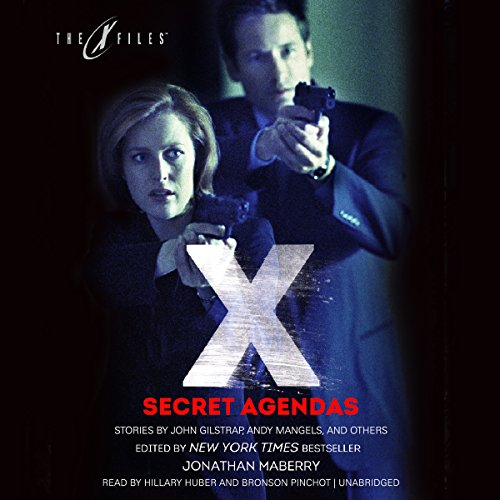 Secret Agendas audiobook cover art