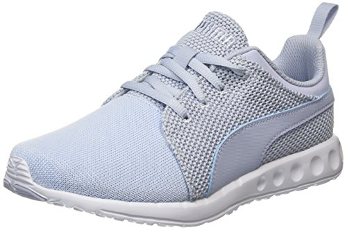 PUMA Herren Carson Runner Knit Schuhe, Blau (halogen blue-lavendar lustre-puma white 07), 38.5 EU