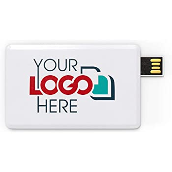 Bulk as Campaign Gift Possibox Custom Promotional USB Flash Drive 128MB Printed with Your Logo Whtie 50 Pack