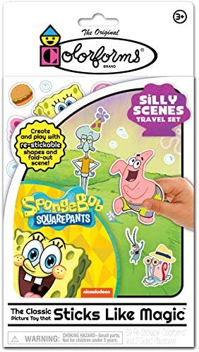 Colorforms Travel Playset Spongebob Squarepants product image