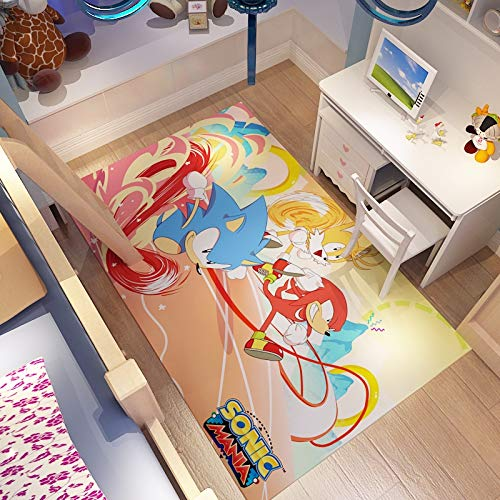 Sonic Force baby rugs for play area kids rug gifts for baby for children's bedroom,Sonic Sonic The Hedgehog Sega Video Games