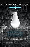 KK.BOL - Lámpara solar portátil LED con panel...