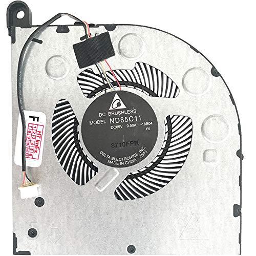 Ventilador de refrigeración para Lenovo Legion Y730-17ICH (GTX 1050 Ti), Y730-17ICH (i7-8750H), Y740-15ICH