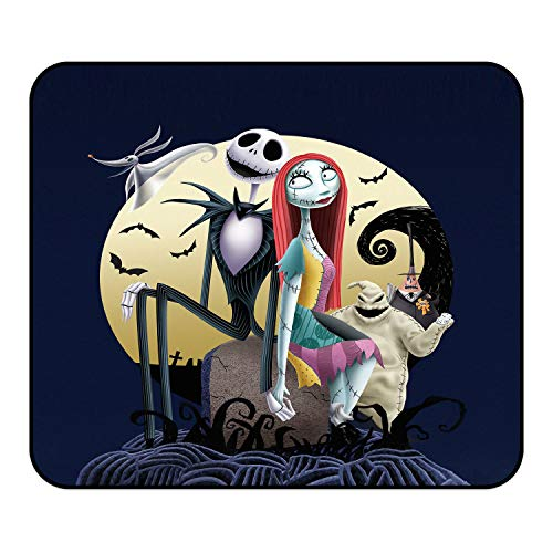 Christmas Mouse Pad - Custom Game Mouse Pads Skull Mouse Pad,Non-Slip Mouse Mat with Delicate Edges,Personalized Mousepad for Kids