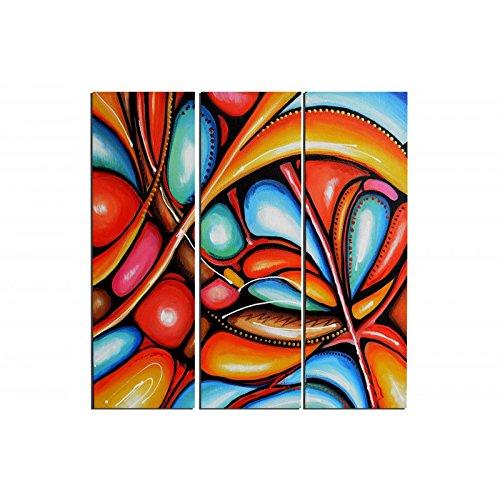 ruedestableaux - Tableaux abstraits - tableaux peinture - tableaux déco - tableaux sur toile - tableau moderne - tableaux salon - tableaux triptyques - décoration murale - tableaux deco - tableau design - tableaux moderne - tableaux contemporain - tableaux pas cher - tableaux xxl - tableau abstrait - tableaux colorés - tableau peinture - Chrysalides colorées