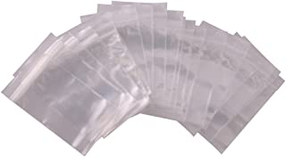Best clear plastic zip bags Reviews