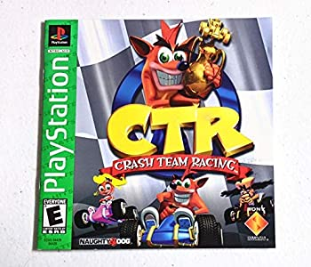 CTR  Crash Team Racing Instruction Booklet  PlayStation 1 PS1 User s Guide Book Manual Only - No Game