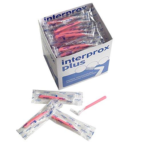 Interprox plus Interdentalbürsten 100er Box (rosa nano)
