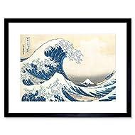 Hokusai Great Wave off Kanagawa Framed Wall Art Print