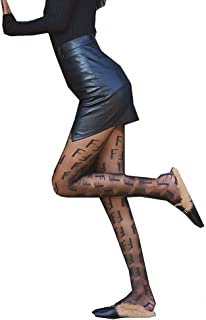 Ulalaza Sparkle Hollow Out Lettera Nudo Trasineo Colorato Rhinestone Caldo perforazione pantyhose calza per le donne