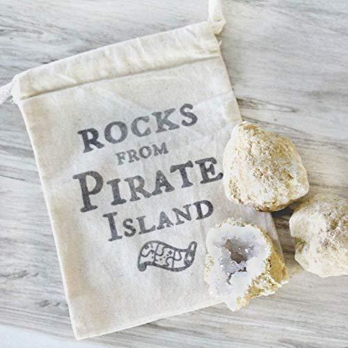 Christmas Stocking Stuffer Gift for Kids Geode Kit Rocks from Pirate Island