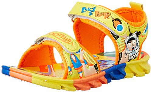 Liberty Footfun (from Unisex Kld-001 Yellow Sandals and Floaters - 12 Kids UK/India (31 EU) (2126003130310)