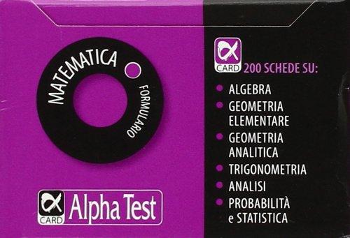 Matematica. Formulario
