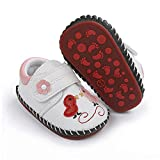 ENERCAKE Baby Boys Girls Shoes Soft Sole Walking Sneakers Cartoon Moccasins Crawling Slippers Infant Toddler Crib First Walkers(6-12 Months Infant, G-White Chicken)