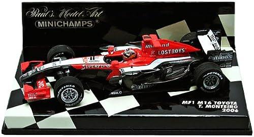 Minichamps T. Monteiro MF1 M16 Toyota  18 Formel 1 2006 1 43