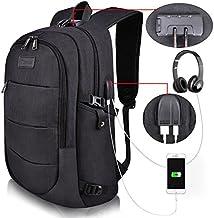 کوله پشتی لپ تاپ Tzowla - محفظه ای برای حمل و نگهداری لپ تاپ های 14/15.6 اینچ