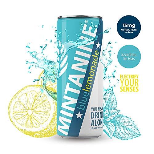 MINTANINE BIO Original blue lemonade, 24er Pack (24 x 250 ml)