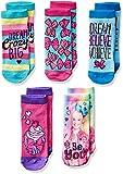 Jojo Siwa Girls 5 Pack Shorty Socks