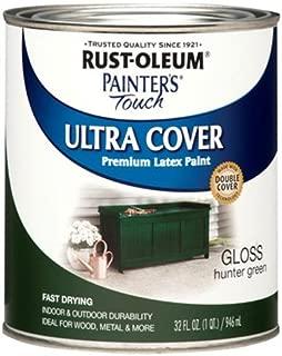 Rust-Oleum 1938502 Painters Touch Latex, 1-Quart, Hunter Green