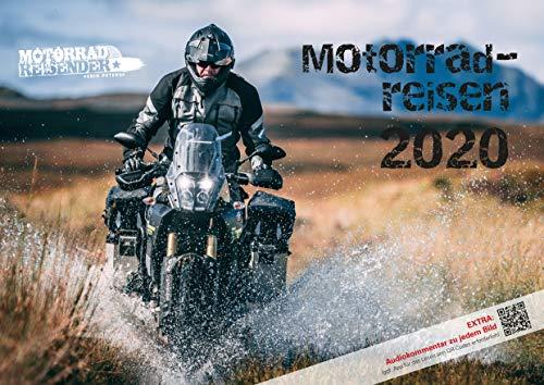 Motorradreisen 2020 Wandkalender von Erik Peters – Mit Audiokommentar zu jedem Bild