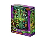 TMNT 4 Character Pack - Leonardo, Donatello, Michelangelo e Raphael Tartarughe Ninja