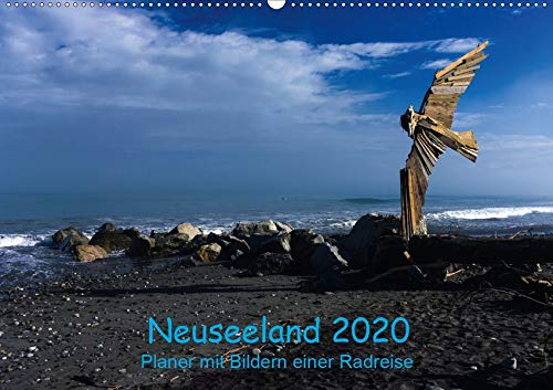 Neuseeland 2020 - Planer mit Bildern einer Radreise (Wandkalender 2020 DIN A2 quer): Neuseeland in Bildern als Planer (Geburtstagskalender, 14 Seiten )