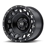 XD Series by KMC Wheels XD129 HOLESHOT Black...