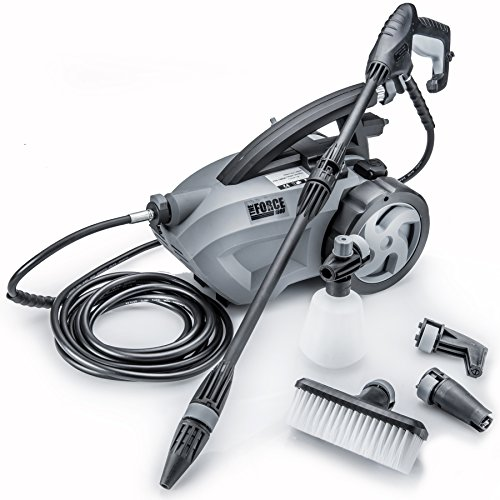 Powerhouse International - The Force 1800 - Pull Behind - 1.6 GPM 1800 PSI Electric Pressure Washer...