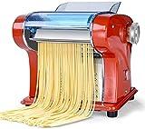 HUIJ Máquina para Hacer Pasta Máquina para Hacer Pasta eléctrica con Juego de Motores Máquina para Hacer pastas de Acero Inoxidable 220v.