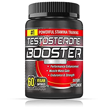 Testosterone Booster for Men Test Booster Capsules Maximizes Muscle 1200MG Double Strength 60 Capsules 30 Days Supply