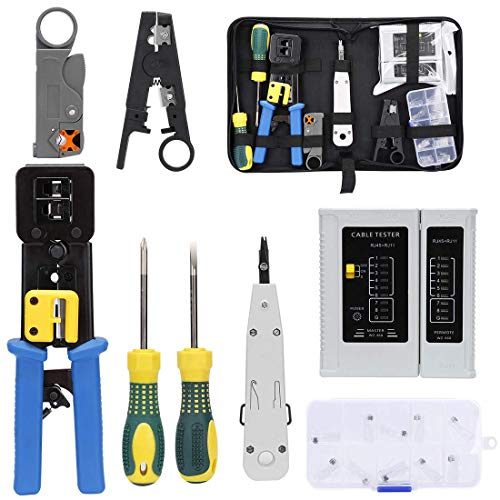 SILIVN Rj45 Crimping Tool Kit