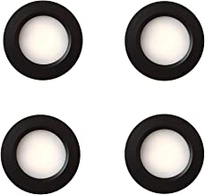 4 x LED 12 V 24 Spot Lights Warm Wit Dimbare Caravan Camper Boot Zwart Inbouw Downlights